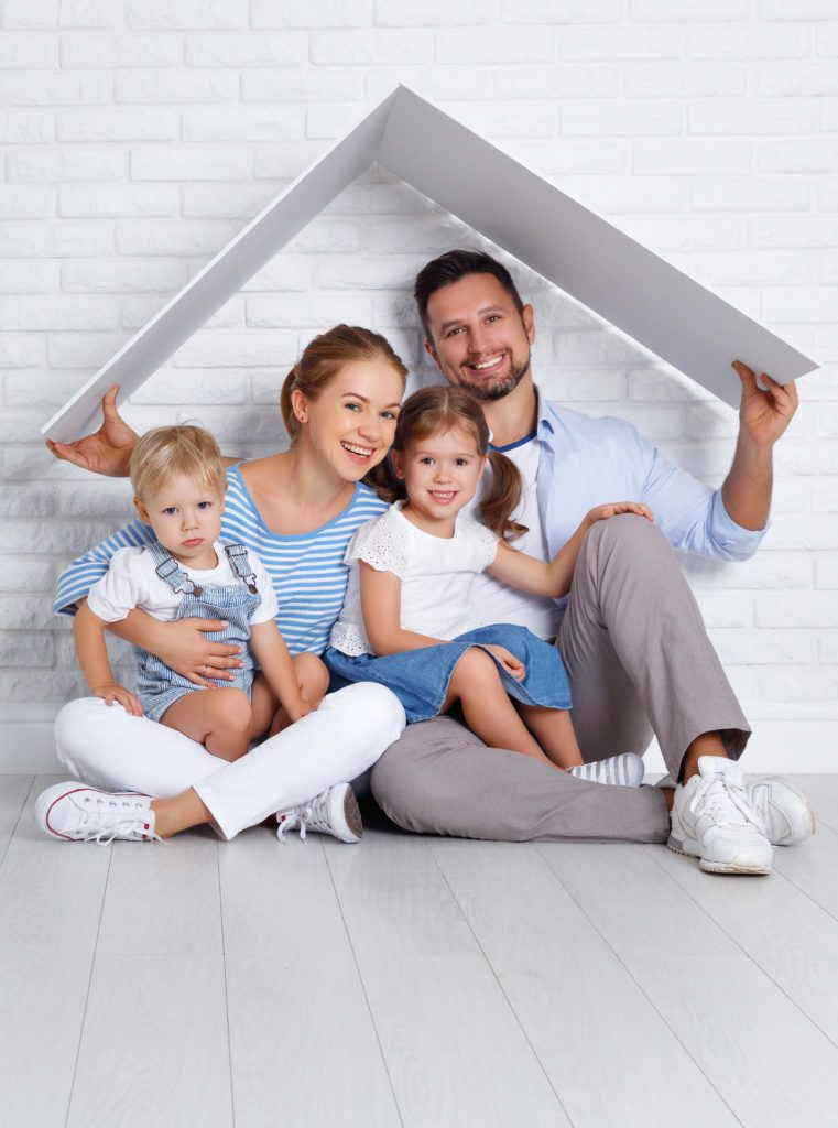 familia casa